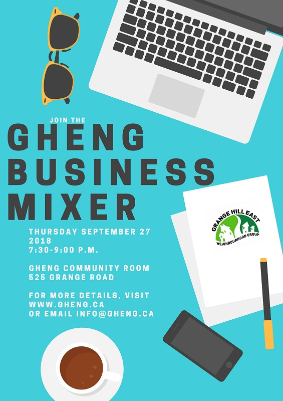 Join local businesses at the GHENG Business Mixer | Guelph